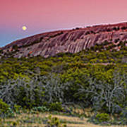 F8 And Be There - Enchanted Rock Texas Hill Country Art Print