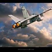 Fa-18d Hornet Art Print