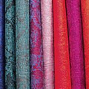 Fab Fabrics Art Print