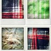 Fabrics Art Print