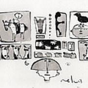Fabula No. 1  Art Print by Mark M  Mellon