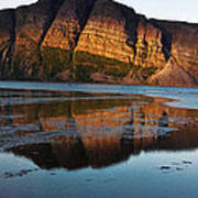 Fabulous Fjord Landscape Of Norway Art Print