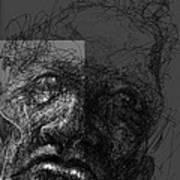 Face In Frame Art Print