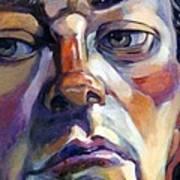 Face Of A Man Art Print