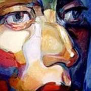 Face Of A Woman Art Print
