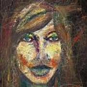Faces 18 Art Print
