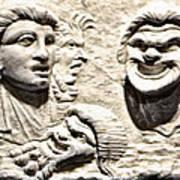 Faces Of Pompeii Art Print