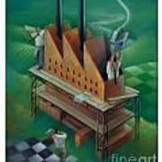 Factory-2 Art Print