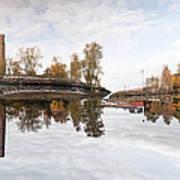 Factory In Helsinki Art Print