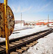 Factory Railroad Art Print