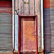 Faded Door Art Print