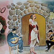 Fado Mural Art Print