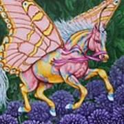 Faery Horse Hope Art Print by Beth Clark-McDonal
