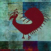 Fafa Bird - 01c01bcr Art Print