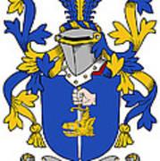 Fahey Coat Of Arms Irish Art Print
