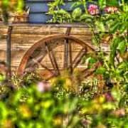Fair Flower Wagon Art Print