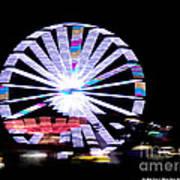 Fair Night Ferris Art Print