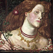 Fair Rosamund  Art Print