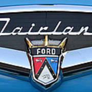 Fairlane Name Plate Art Print