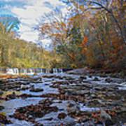Fairmount Park - Wissahickon Creek In Autumn Art Print