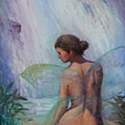 Fairy  Enchanted  Art Print by Gwen Carroll