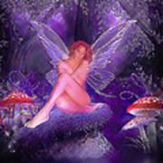 Fairy Fantasy Art Print by Brian Graybill