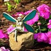 Fairy Garden Art Print by Andrea Dale