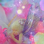 Fairy In Fairy Dust Art Print