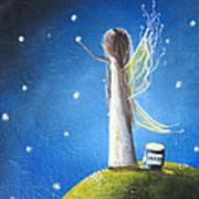Fairy Maker By Shawna Erback Art Print by Shawna Erback
