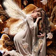 Fairy Of The Key Art Print
