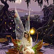Fairy Princess Art Print by Garry Walton