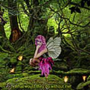 Fairy Princess Art Print