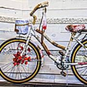 Fairy Tale Bike Flying Machine Art Print