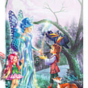 Fairy Wand Art Print