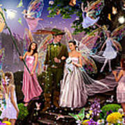 Fairy Wedding Art Print