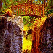 Fairytale Bridge Art Print