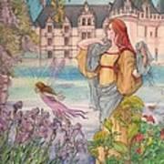 Fairytale Nocturne Castle Art Print
