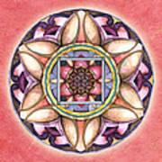 Faith Mandala Art Print