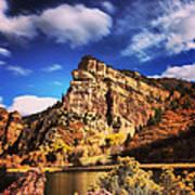 Fall At Hanging Lake Colorado Art Print