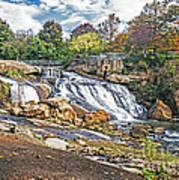 Fall At Reedy River Art Print