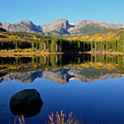 Fall At Sprague Lake Art Print by Tranquil Light  Photography