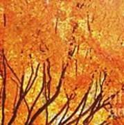 Fall At The Shore Art Print