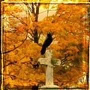 Fall Burst Art Print
