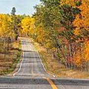Fall Color Tour Mn Highway 1 2878 Art Print