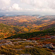 Fall Colors Of Acadia 6656 Art Print