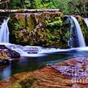 Fall Creek Oregon 3 Art Print