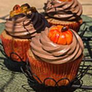 Fall Cupcakes Art Print
