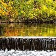 Fall Falls Print by Baywest Imaging