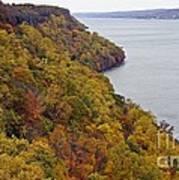 Fall Foliage On The New Jersey Palisades II Art Print