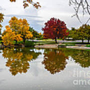 Fall Fort Collins Art Print by Baywest Imaging
